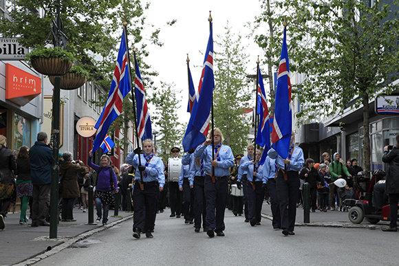 Islandia celebra hoy su fiesta nacional