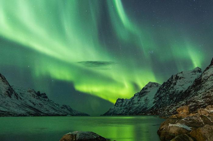 La caza de auroras boreales
