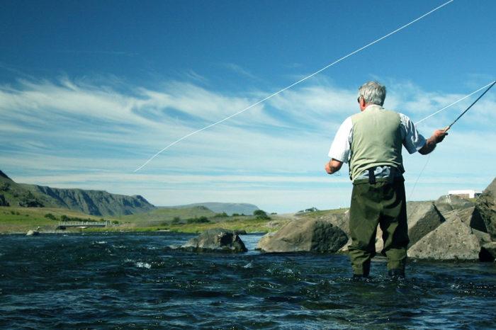 Día de pesca en Islandia