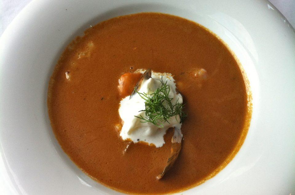 El restaurante de Geysir y la comida saludable
