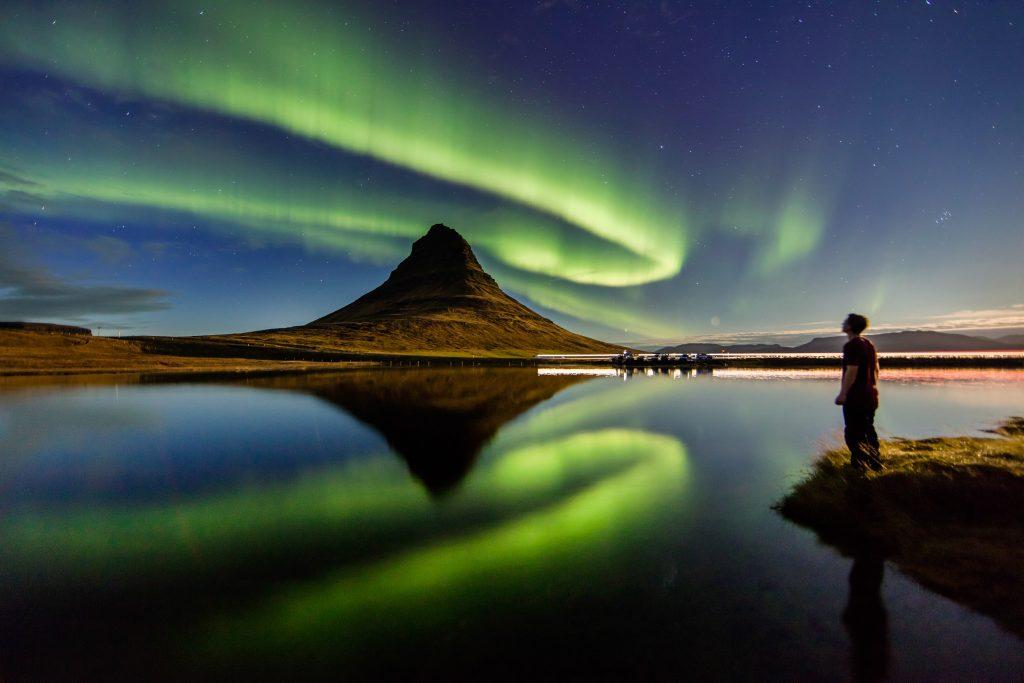 Las Auroras Boreales en Snæfellsnes.