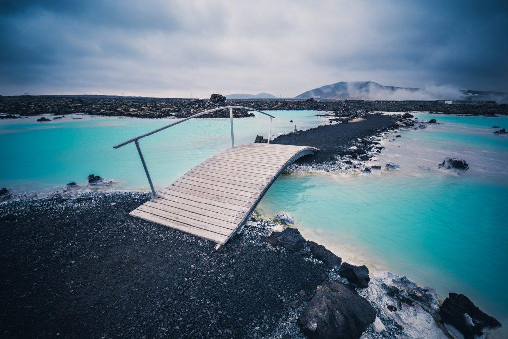 Los baños termales de Islandia son altamente relajantes