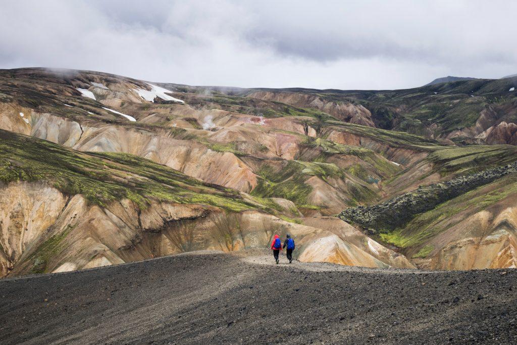 Caminar por Landmannalaugar será una experiencia inolvidable