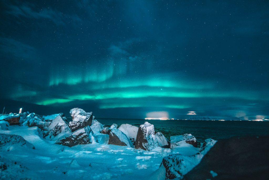 Las Auroras Boreales son uno de los muchos motivos para un viaje a Islandia